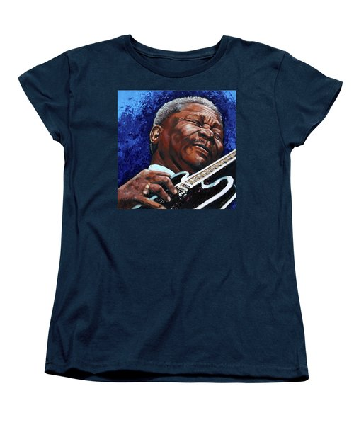 Bb King Women's T-Shirt (Standard Cut) by John Lautermilch