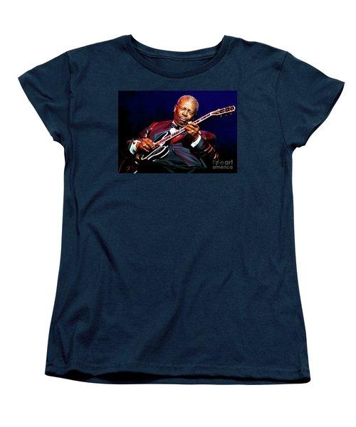 Bb King Women's T-Shirt (Standard Cut) by Paul Tagliamonte