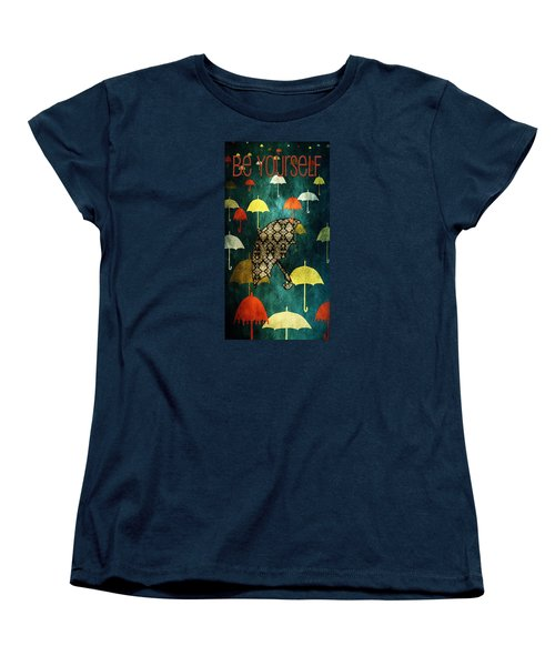 Be Yourself - Large Format Women's T-Shirt (Standard Cut) by Bonnie Bruno