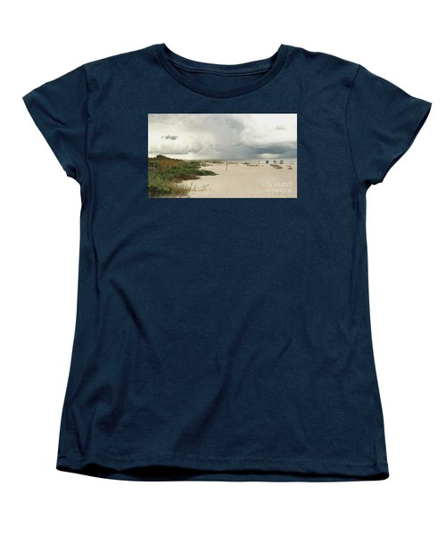 Beach Day Women's T-Shirt (Standard Cut) by Raymond Earley