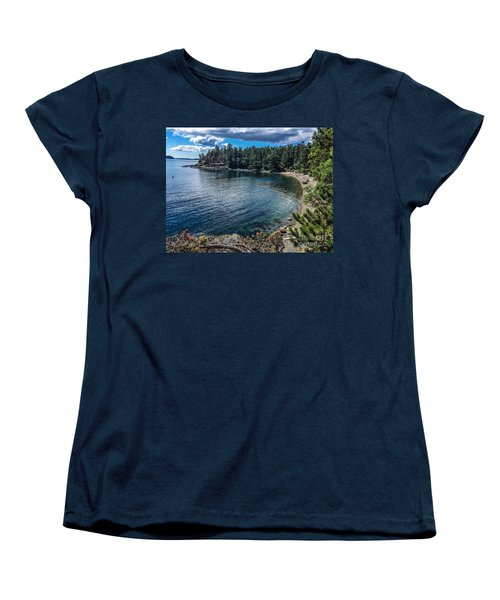 Women's T-Shirt (Standard Cut) featuring the photograph Beach Days by William Wyckoff