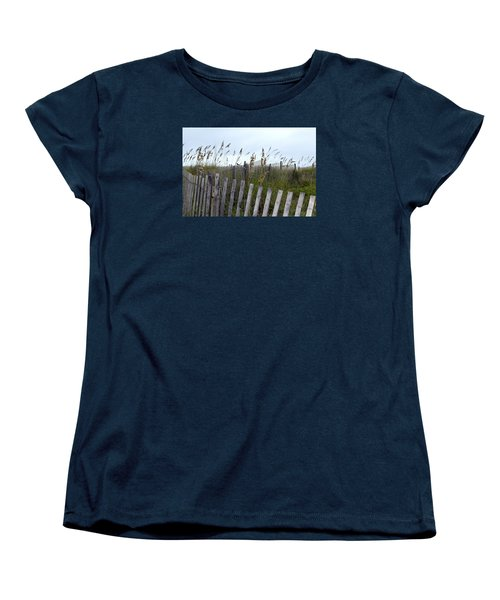 Beach Is Calling Women's T-Shirt (Standard Cut) by Deborah  Crew-Johnson