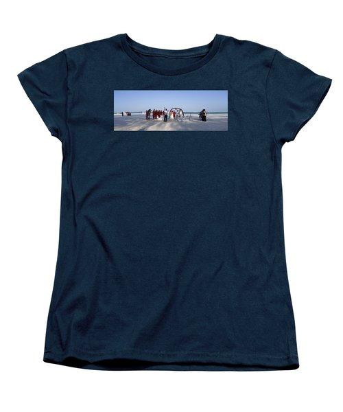 Beach Panoramic Wedding  Women's T-Shirt (Standard Fit)