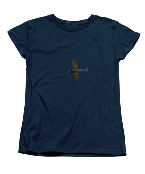 Beach Plane Women's T-Shirt (Standard Cut) by Newwwman
