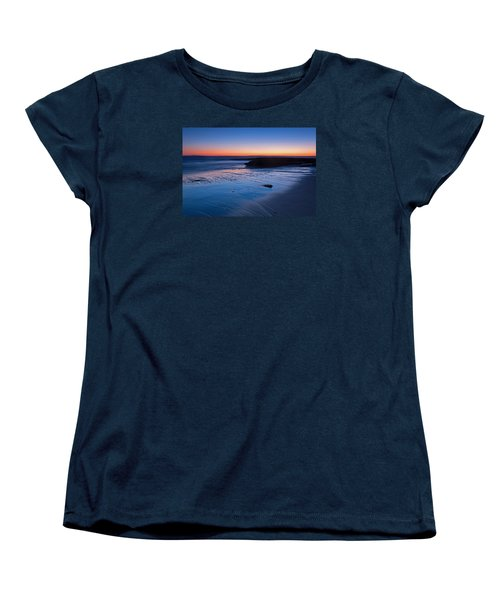 Beach View  Women's T-Shirt (Standard Cut) by Catherine Lau