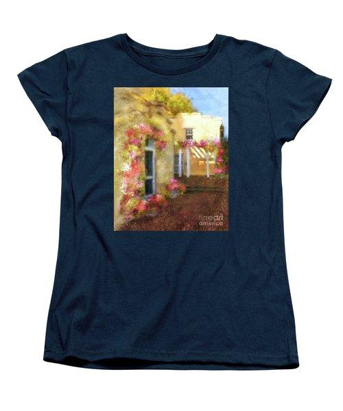 Women's T-Shirt (Standard Cut) featuring the digital art Beallair In Bloom by Lois Bryan