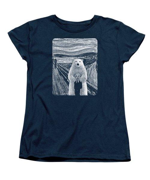 Bear Factor Women's T-Shirt (Standard Cut) by Mustafa Akgul