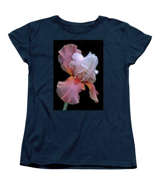Bearded Iris Women's T-Shirt (Standard Cut) by Dave Mills