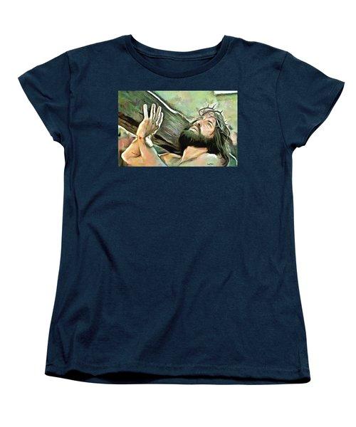 Bearing The Cross Women's T-Shirt (Standard Cut)