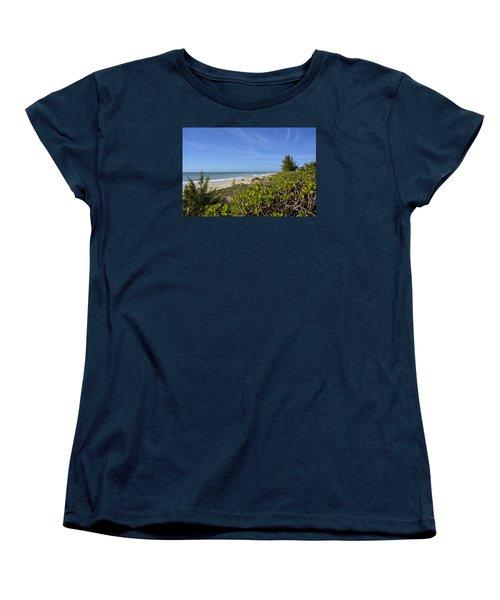 Beautiful Beachy Afternoon Women's T-Shirt (Standard Cut) by Carol Bradley