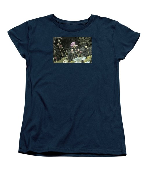 Beautiful Indian Lotus Women's T-Shirt (Standard Cut) by Odon Czintos