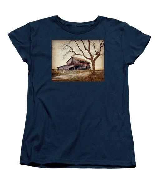 Beautiful Red Barn-near Ogden Women's T-Shirt (Standard Cut) by Kathy M Krause
