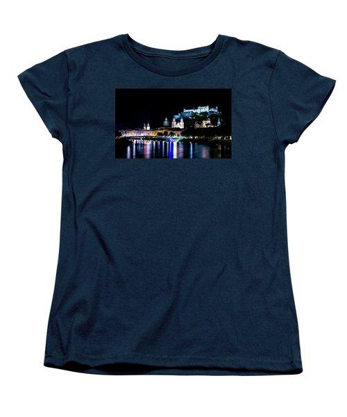 Women's T-Shirt (Standard Cut) featuring the photograph Beautiful Salzburg by David Morefield