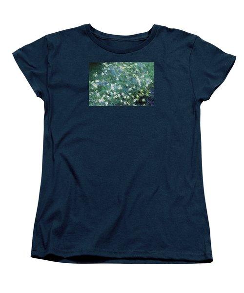 Beautiful Summer Blues Women's T-Shirt (Standard Cut) by The Art Of Marilyn Ridoutt-Greene
