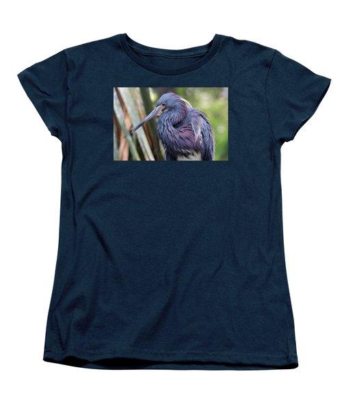 Beautiful Tricolored Heron Women's T-Shirt (Standard Cut) by Kenneth Albin