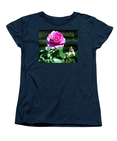 Women's T-Shirt (Standard Cut) featuring the photograph Beauty And The Bud by Will Borden