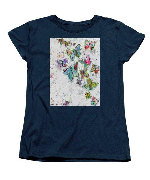 Becoming Free Women's T-Shirt (Standard Cut) by Kirsten Reed