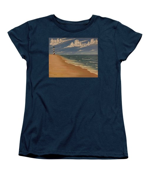 Women's T-Shirt (Standard Cut) featuring the painting Before The Move by Stacy C Bottoms