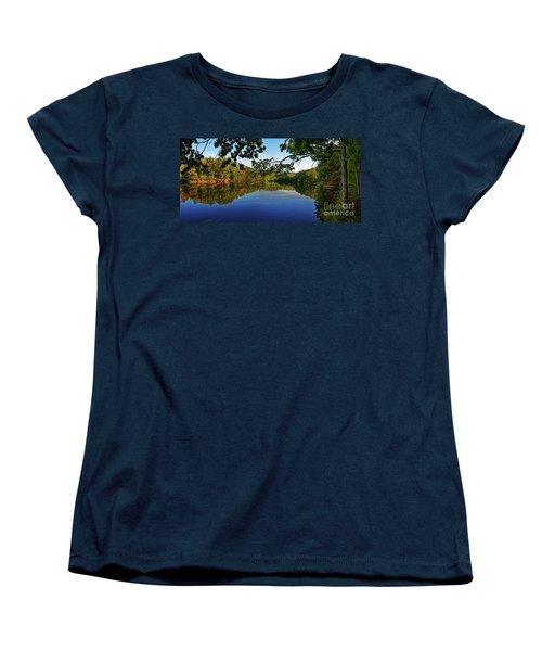 Beginning To Look Like Fall Women's T-Shirt (Standard Cut) by Paul Mashburn