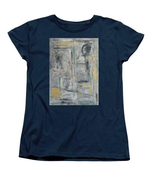 Behind The Door Women's T-Shirt (Standard Cut) by Trish Toro