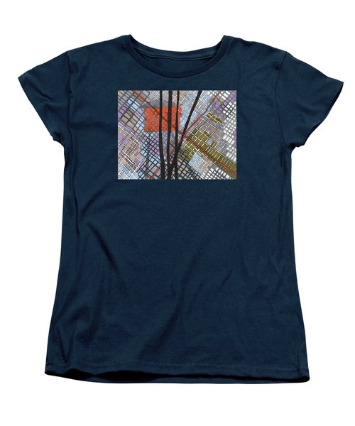 Behind The Fence Women's T-Shirt (Standard Cut) by Sandra Church
