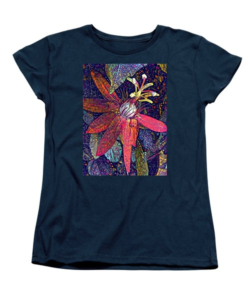 Women's T-Shirt (Standard Cut) featuring the photograph Bejeweled Passion by Geri Glavis