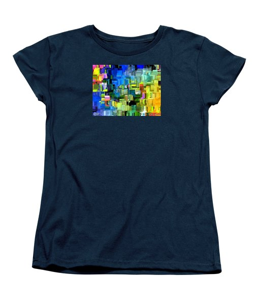 Women's T-Shirt (Standard Cut) featuring the painting Believe What You Say by Holley Jacobs