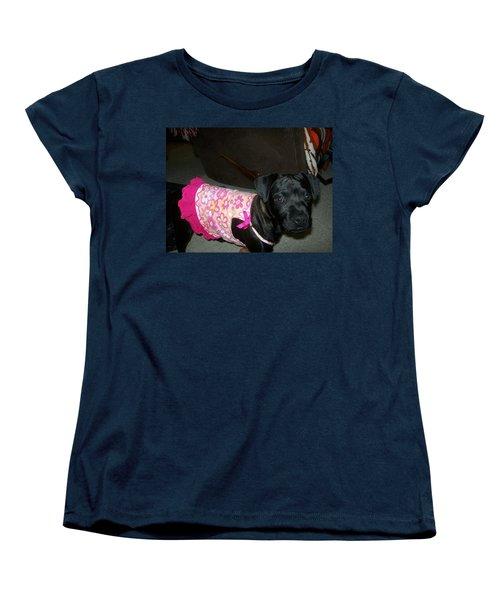 Bella In Swimsuit Women's T-Shirt (Standard Cut) by Jewel Hengen