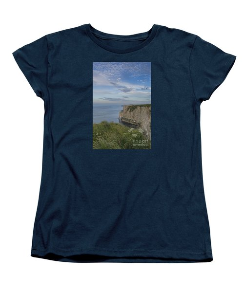 Bempton View Women's T-Shirt (Standard Cut) by David  Hollingworth