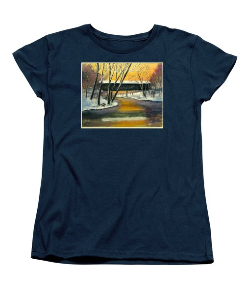 Bennett Women's T-Shirt (Standard Cut) by Gail Kirtz