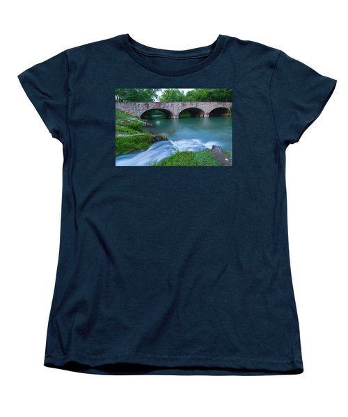 Women's T-Shirt (Standard Cut) featuring the photograph Bennett Spring by Steve Stuller