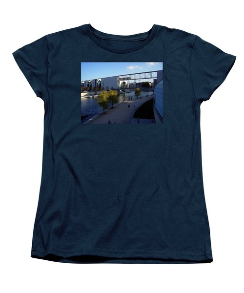 Berlin II Women's T-Shirt (Standard Cut) by Flavia Westerwelle