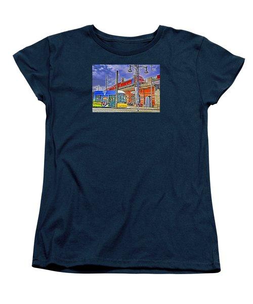 Berlin Transit Hub Women's T-Shirt (Standard Cut) by Dennis Cox WorldViews