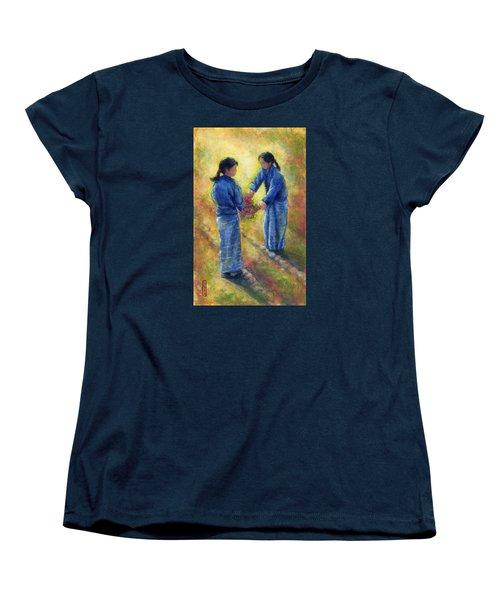 Best Friends Women's T-Shirt (Standard Cut) by Retta Stephenson