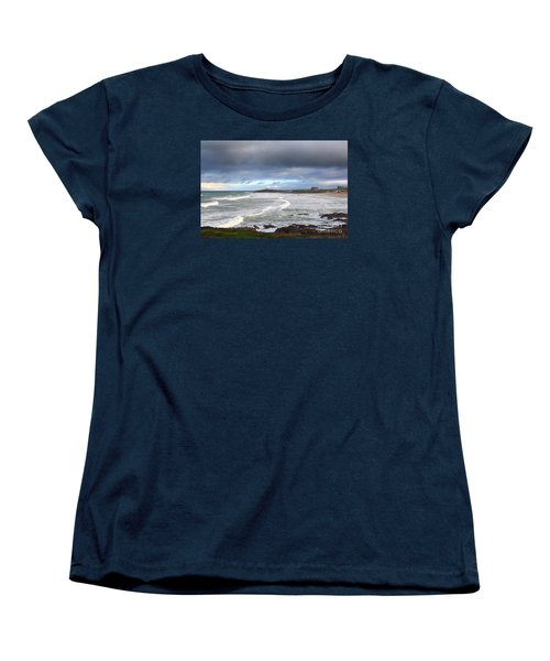 Women's T-Shirt (Standard Cut) featuring the photograph Between Cornish Storms 1 by Nicholas Burningham
