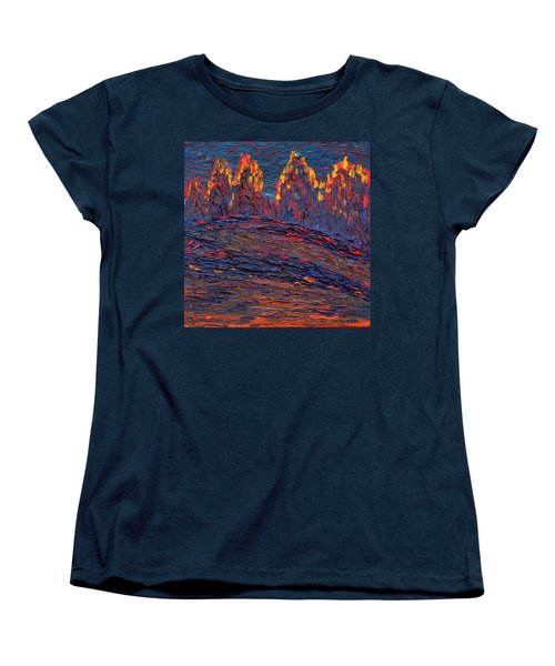 Beyond The Darkness Women's T-Shirt (Standard Cut) by Vadim Levin