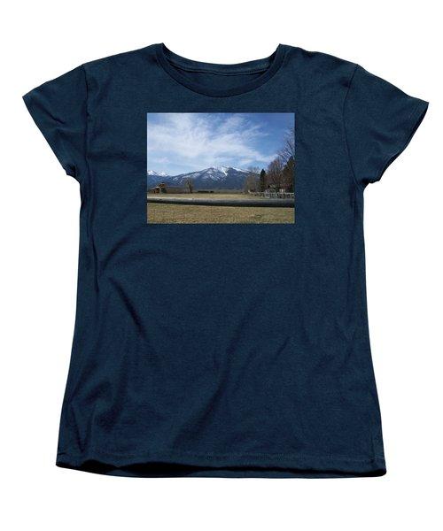 Beyond The Field Women's T-Shirt (Standard Cut) by Jewel Hengen