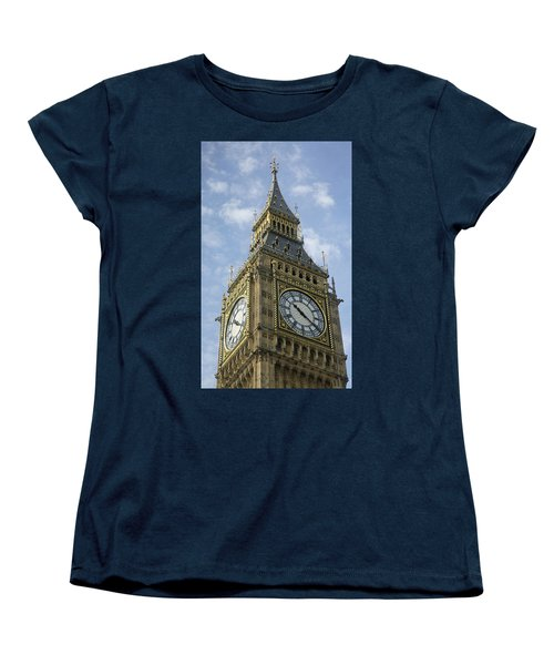 Big Ben Women's T-Shirt (Standard Cut) by Elvira Butler