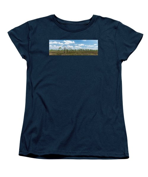Women's T-Shirt (Standard Cut) featuring the photograph Big Cypress Marshes by Jon Glaser