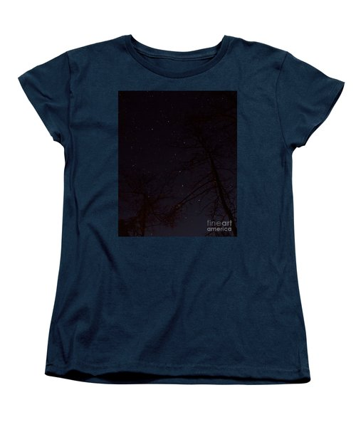 Women's T-Shirt (Standard Cut) featuring the photograph Big Dipper by Barbara Bowen