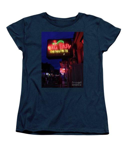 Women's T-Shirt (Standard Cut) featuring the photograph Big Easy Sign by Steven Spak