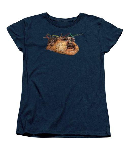 Big Guy Women's T-Shirt (Standard Cut) by David and Lynn Keller