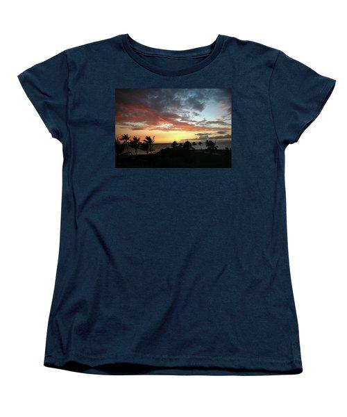 Women's T-Shirt (Standard Cut) featuring the photograph Big Island Sunset #2 by Anthony Jones