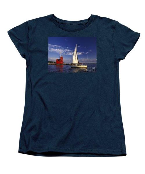 Big Red - Fm000060 Women's T-Shirt (Standard Cut) by Daniel Dempster