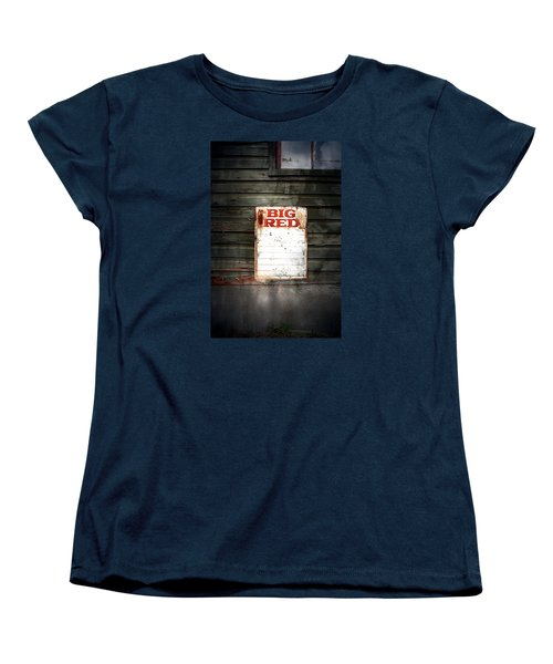 Women's T-Shirt (Standard Cut) featuring the photograph Big Red by Newel Hunter