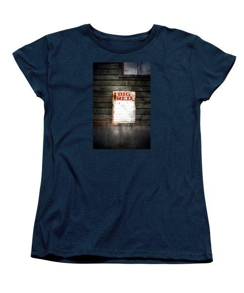 Big Red Women's T-Shirt (Standard Cut) by Newel Hunter