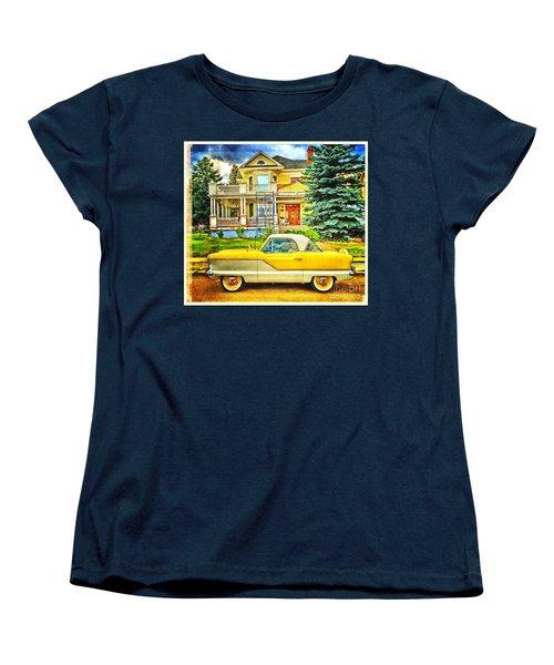 Big Yellow Metropolis Women's T-Shirt (Standard Cut)