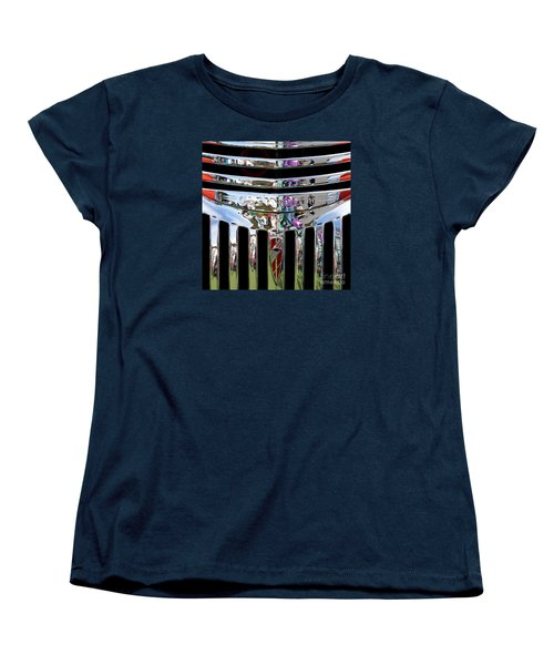 Chevrolet Grille 03 Women's T-Shirt (Standard Cut) by Rick Piper Photography