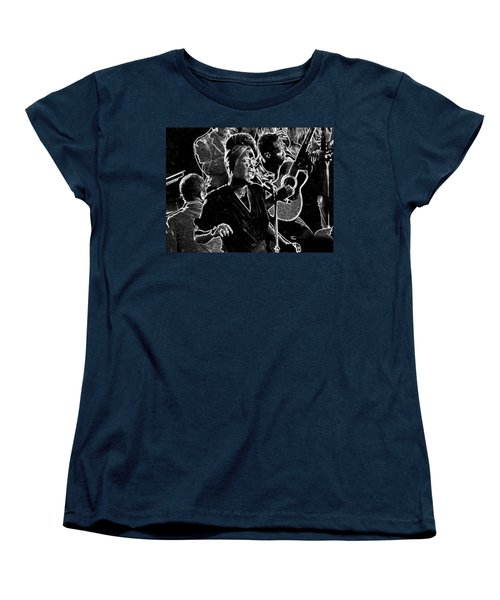 Billie Holiday Women's T-Shirt (Standard Cut) by Charles Shoup