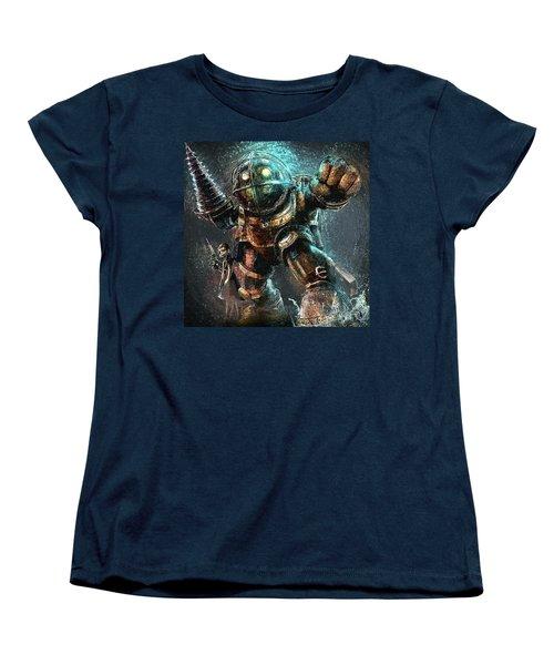 Bioshock Women's T-Shirt (Standard Cut) by Taylan Apukovska